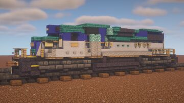 """Canadian Pacific - EMD GP38-2 """"Delaware & Hudson Leased Power"""" Minecraft Map & Project"""