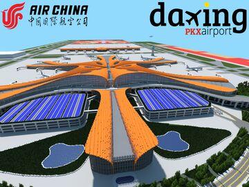 Beijing Daxing International Airport (1.16.5) Minecraft Map & Project