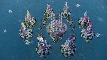 Bed Wars Map (Royal Princess) Minecraft Map & Project