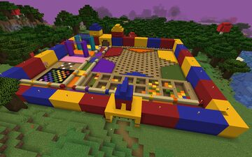 Board Game Zone Minecraft Map & Project