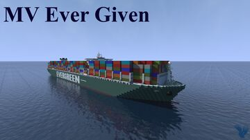 MV Ever Given (2019) | Download Minecraft Map & Project