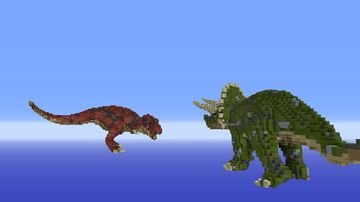 Dino Minecraft Map & Project