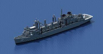 USNS Bridge (T-AOE-10) Minecraft Map & Project