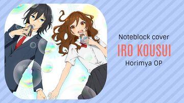 Iro Kousui - Yoh Kamiyama - Horimiya OP - Minecraft Note Block Cover Minecraft Map & Project