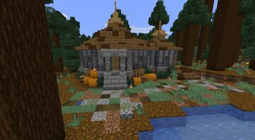 Witch Hut - Starter House Minecraft Map & Project