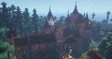 Castle Falkland Minecraft Map & Project