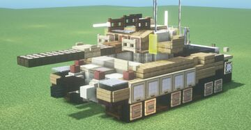 IDF Sho't Kal Dalet (1.5:1 Scale) Minecraft Map & Project