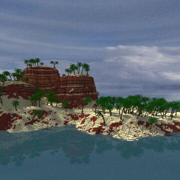 The Continent of Saqura Minecraft Map & Project
