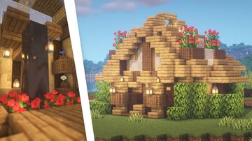 Minecraft | Greenhouse Building Idea | How to Build a Greenhouse Tutorial Minecraft Map & Project