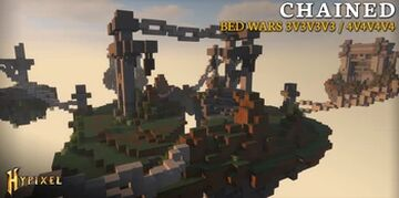 [Hypixel Bedwars] Chained Maps [Free Download] 1.8+ Minecraft Map & Project