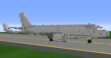 Airbus A320 Neo, 1.25:1 Scale Minecraft Map & Project