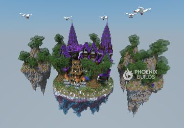 💫Air Lobby/Spawn/Hub💫 [FREE DOWNLOAD] Minecraft Map & Project