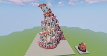 Tatlin's tower monument replica Minecraft Map & Project