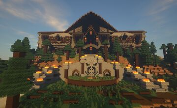 Wildcraft's Massive Were Mansion Minecraft Map & Project