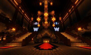 Halloween Werewolf Mansion Minecraft Map & Project