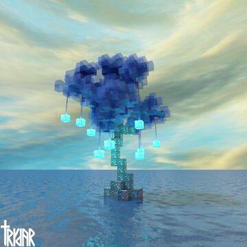 Diamond Tree +tutorial Minecraft Map & Project