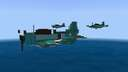 Douglas SBD Dauntless 1.5:1 (CV-6 camo 1942) Minecraft Map & Project