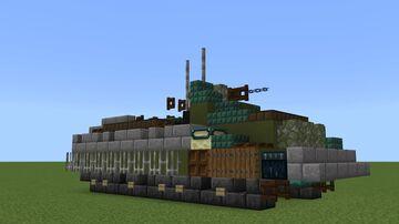 Armata Universal Combat Platform (1.5:1) Minecraft Map & Project