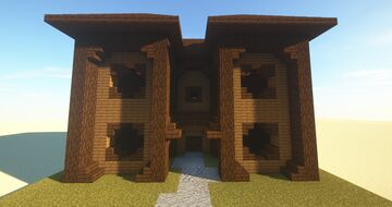 MiniDarkWoodVilla Minecraft Map & Project