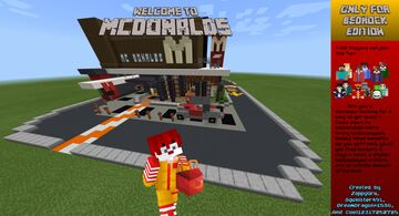 McDonalds Minecraft Map & Project