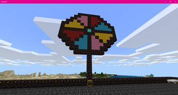 Lucky Wheel Minecraft Map & Project
