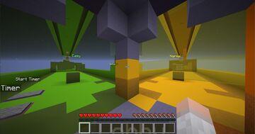 Simple Parkour Minecraft Map & Project