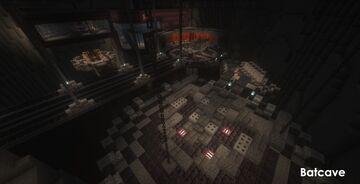 SnyderVerse Wayne Manor and Batcave (Original) Minecraft Map & Project
