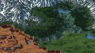 Marspire (3k x 3k) Minecraft Map & Project