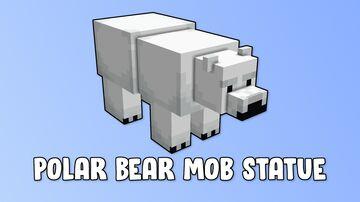 Polar Bear Mob Statue Minecraft Map & Project