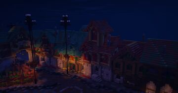 Houses™ Minecraft Map & Project