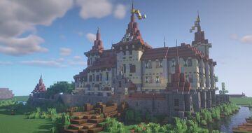 Blütenstein Castle Minecraft Map & Project