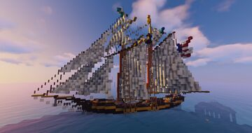 Pride of Baltimore [REAL SHIP] Minecraft Map & Project