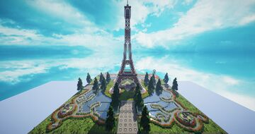 HCF Spawn - Paris themed [FREE DOWNLOAD] Minecraft Map & Project