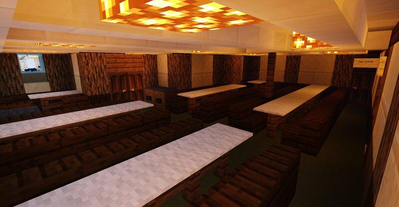 II Class Dining Saloon