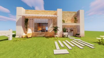 Pastry Shop | Cocricot Aesthetic Build | Mod Minecraft Map & Project