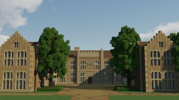 Sutton Place, Surrey Minecraft Map & Project