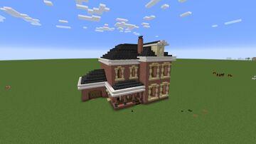 Cozy suburban brick house Minecraft Map & Project