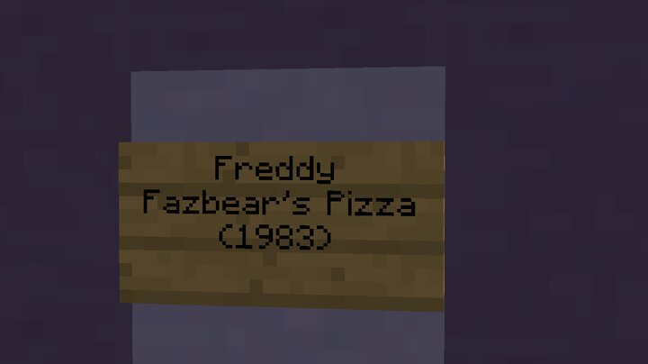 First Freddy Fazbear's Pizzaria