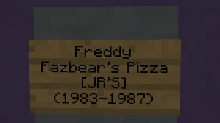 Second Freddy Fazbear's Pizzaria JR'S