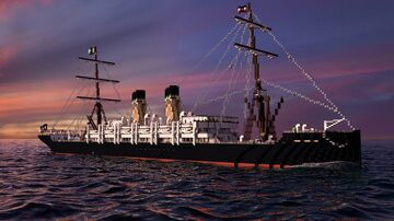 SS Le Geramont (1890) Minecraft Map & Project