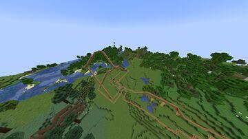 Roller Coaster (READ DESCRIPTION) Minecraft Map & Project
