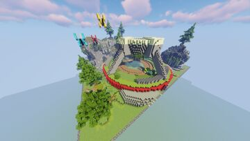 Terria Pixelmon Gym Pack (Commissioned by MagmaBuilds) Minecraft Map & Project