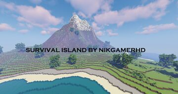 SURVIVAL ISLAND ( 1000X1000 ) Minecraft Map & Project