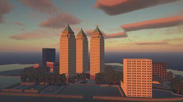 Esplanade Plaza Minecraft Map & Project