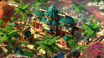 Desert Survival Spawn Minecraft Map & Project