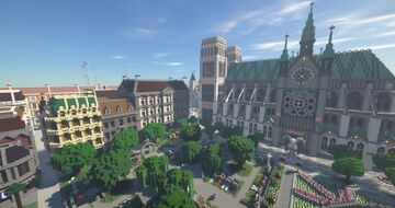 Ascension - A Minecraft City Minecraft Map & Project