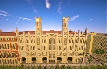 Civic palace Minecraft Map & Project