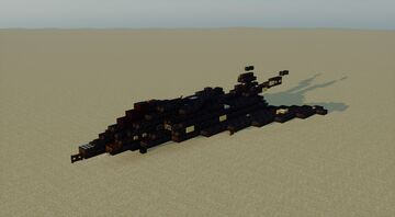 F-117 Nighthawk - 1.5:1 Scale Minecraft Map & Project