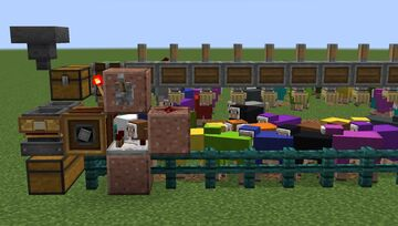 [Create Mod] Free-Range Automatic Wool Farm Minecraft Map & Project