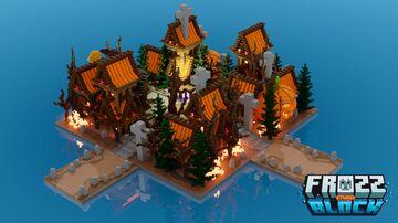 Halloween HCF Spawn Minecraft Map & Project